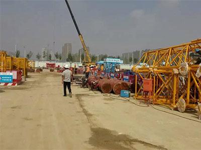 中建六局徐州地铁工程注浆施工
