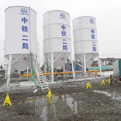 上海松江沪苏湖铁路七标地基处理工程